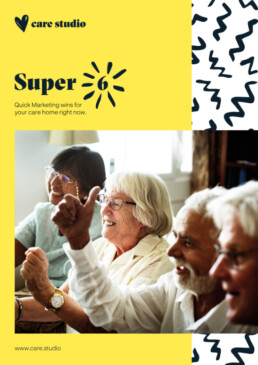 Free guide to Marketing a Care Home